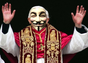 Anonymous vs. Vaticano