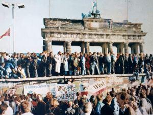 La caduta del muro: 1989