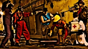 Cosplay Team Fortress 2 - Lucca Comics & Games 2012